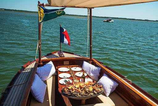 Balades privées en bateau sur le Bassin d'Arcachon