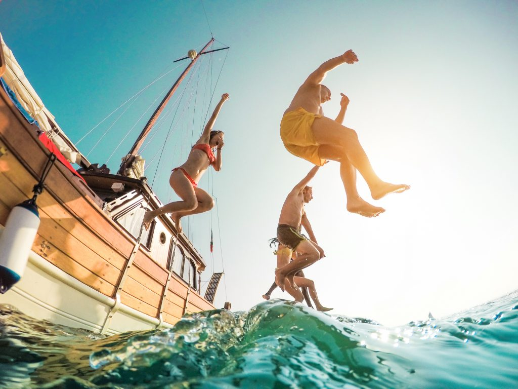 Balade en bateau privatisé avec marin