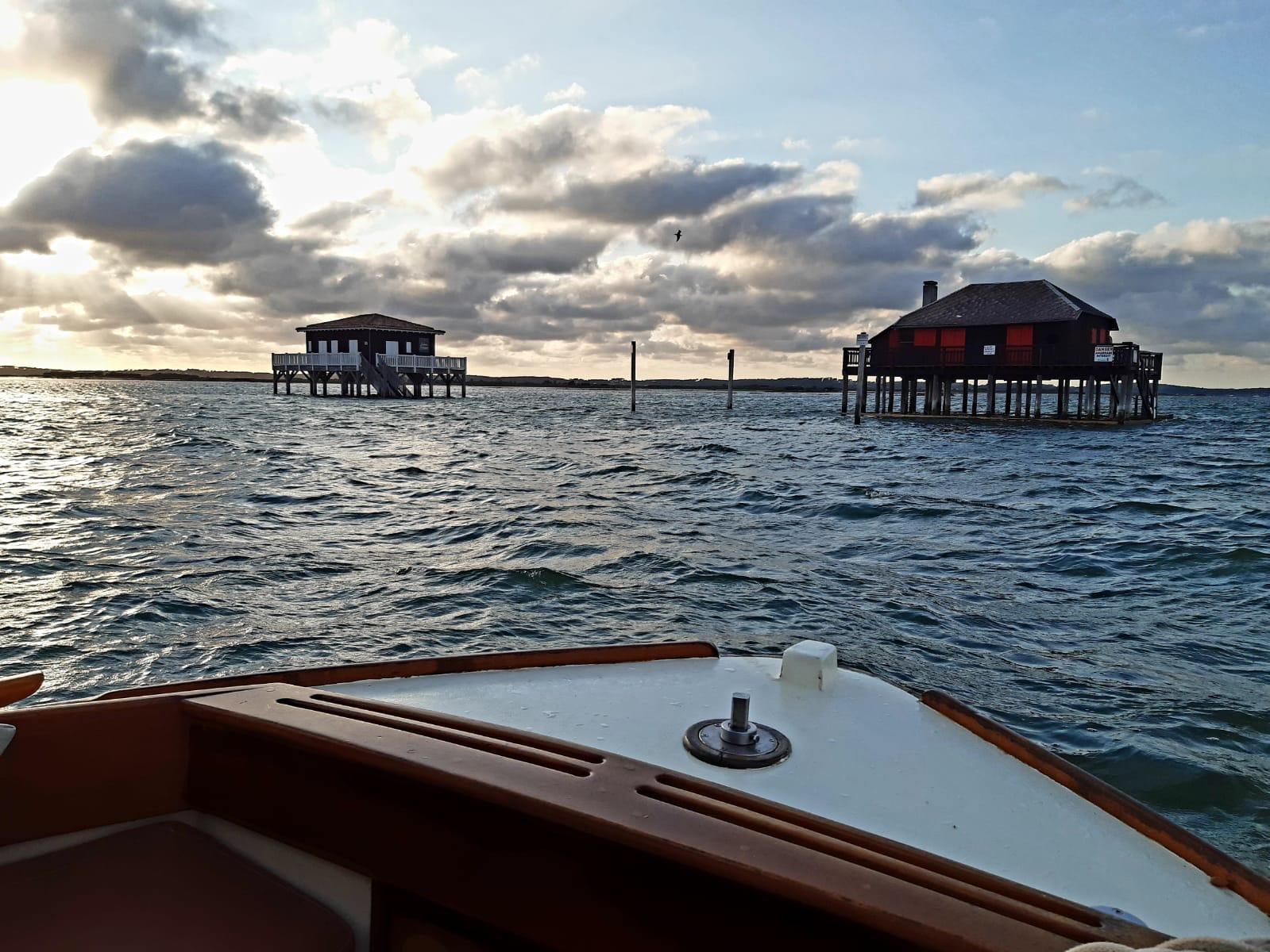 Balades privées: à la découverte du Bassin d'Arcachon en bateau